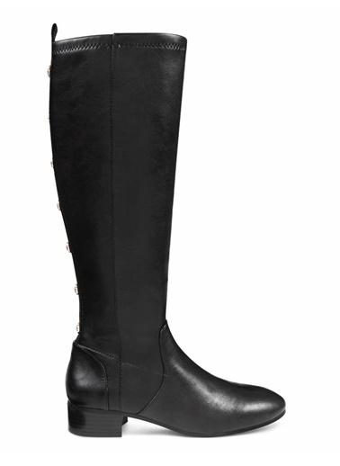 Nine West Kalın Topuklu Çizme Siyah